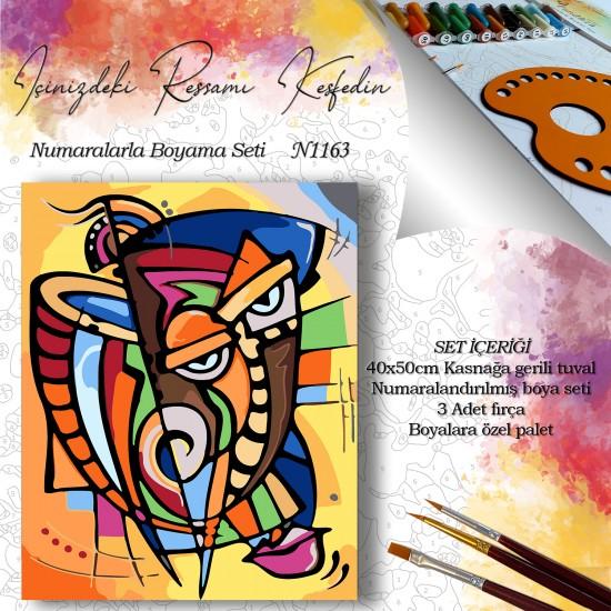 Painting By Numbers – N1163